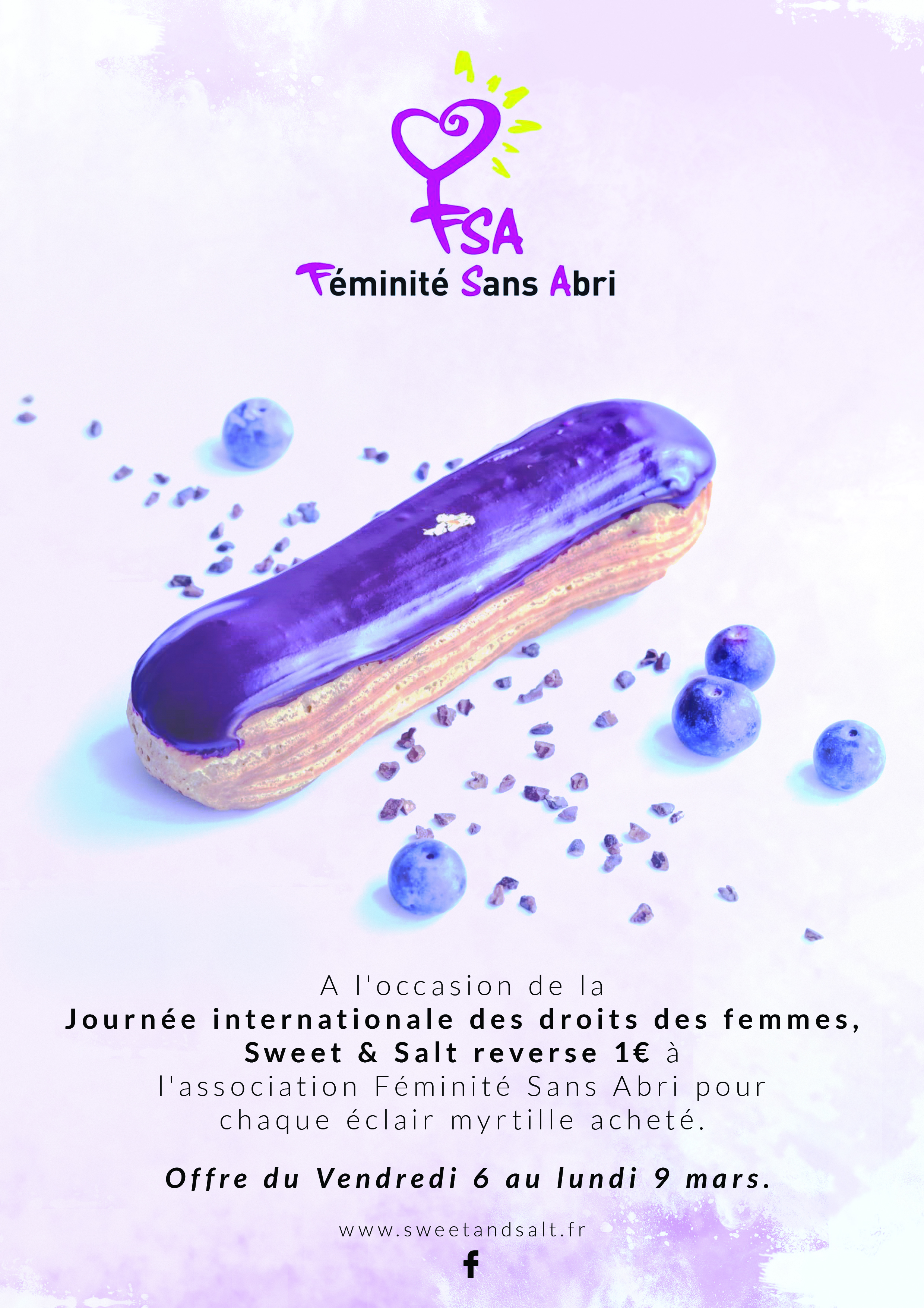 La journée internationale de la femme avec Sweet & Salt