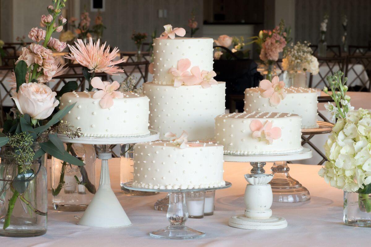 Les différents types de gâteau de mariage